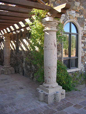Rock solid solutions for Cantera pillars